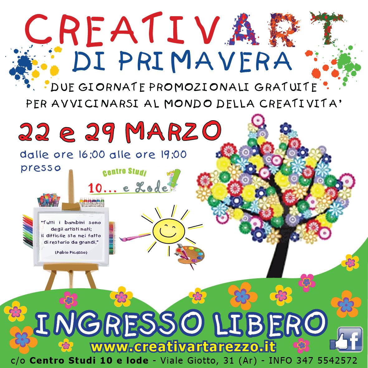 Laboratori creativi primavera