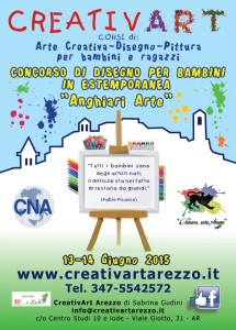 Concorso bambini creativart Anghiari Arte
